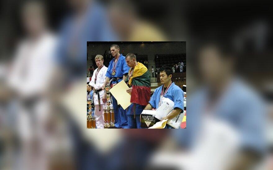Tomas Šviažas - pasaulio kudo bronzos medalio laimėtojas