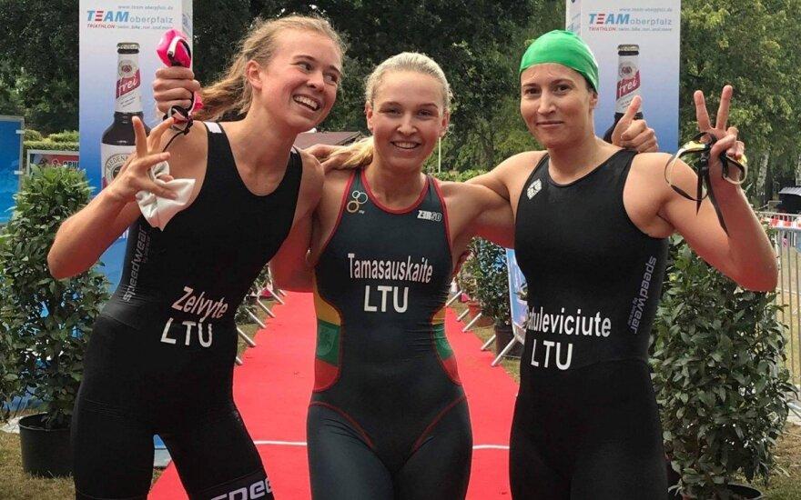 Lietuvos penkiakovininkės (pentathlon.lt nuotr.)