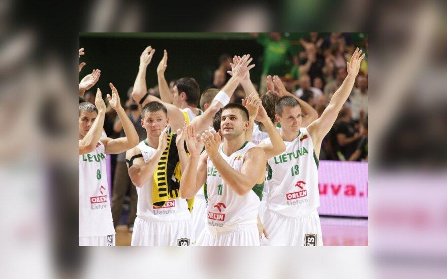Lietuvos rinktinės krepšininkai