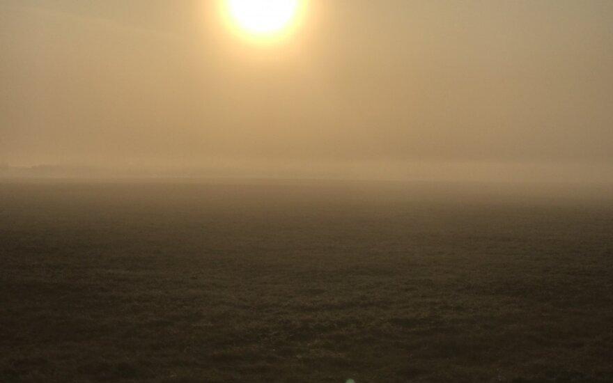 Orai: sužibo viltis dėl sugrįžtančios šilumos