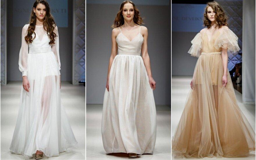 Agnės Deveikytės vestuvinių suknelių kolekcija