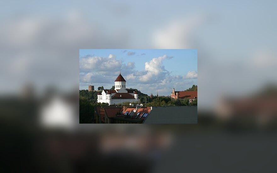 Vilniaus miestas, Vilniaus panorama, bažnyčios