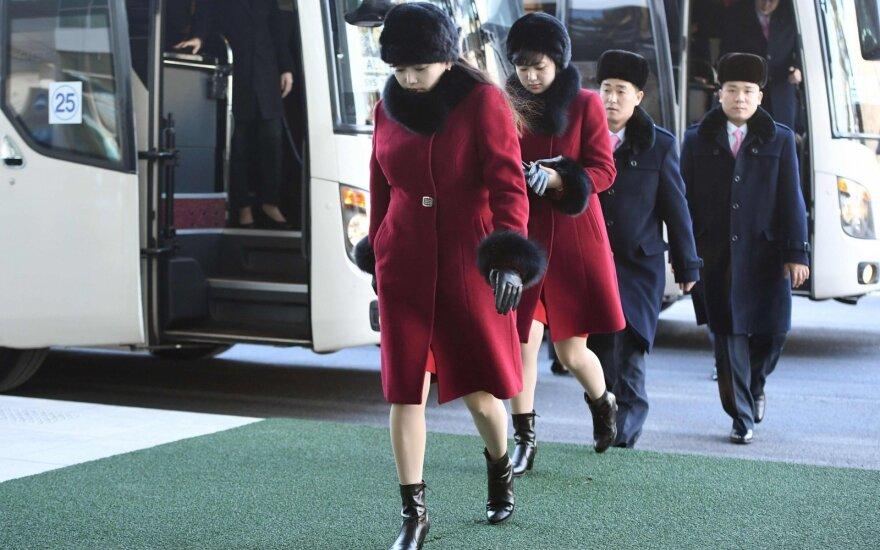 Prie Šiaurės Korėjos sienos – keistas incidentas