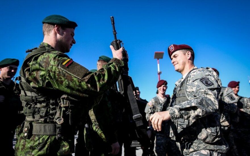 New US military rotation arrives in Lithuania