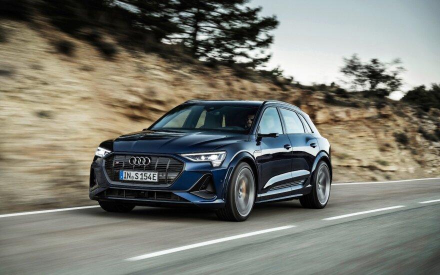 """Audi e tron S"" ir ""Audi e tron S Sportback"""