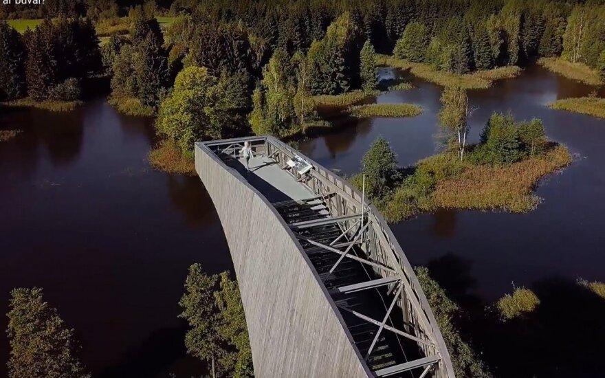 Traukinių keleiviams – intriguojantis filmukas apie mažai žinomas Lietuvos vietas