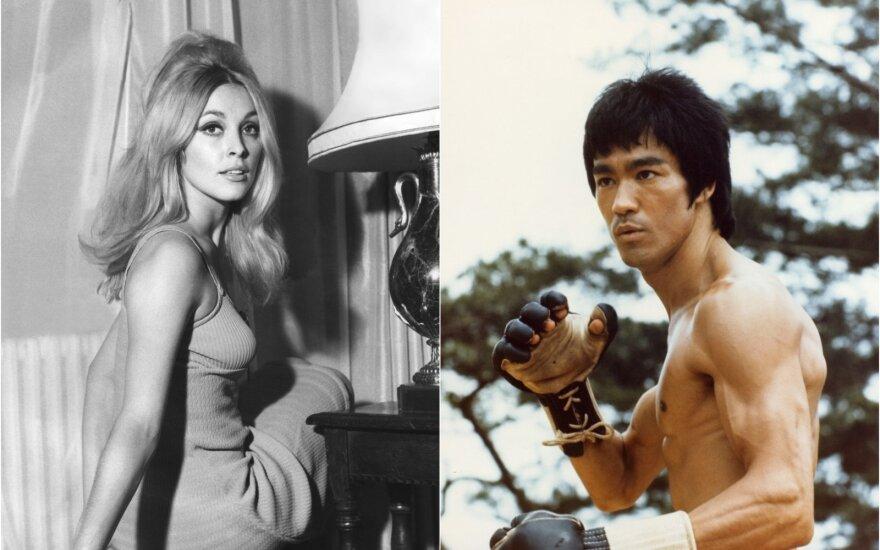 Sharon Tate ir Bruce Lee