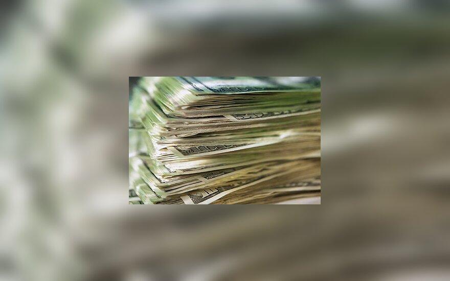 Pinigai, doleriai, USD, banknotai
