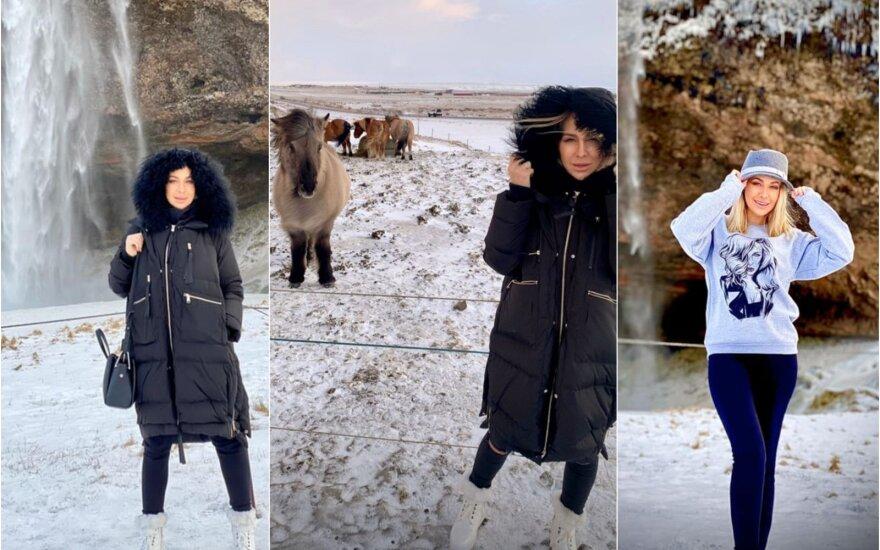 Oksana Pikul viešėjo Islandijoje