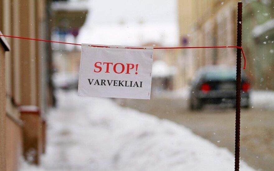 Stop! Varvekliai