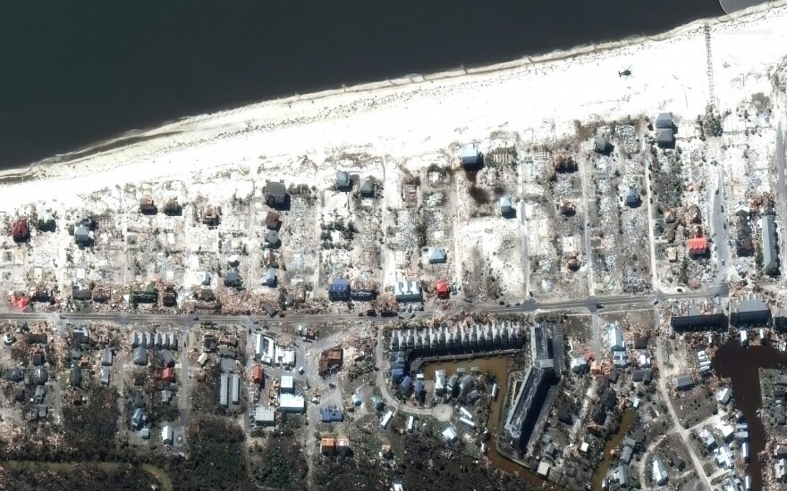 Apsilankė vos tūkstantį gyventojų turinčiame miestelyje: tarsi būtų sprogusi bomba. Panašu į karo zoną