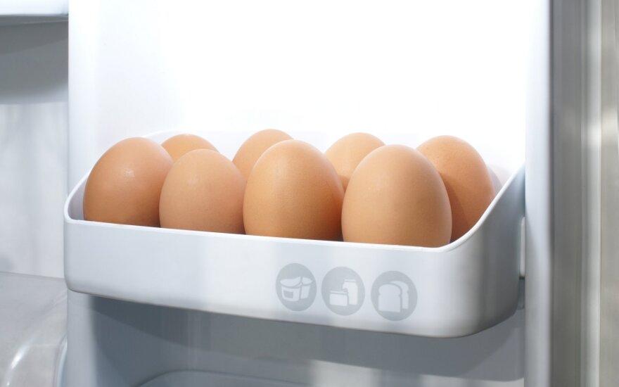Kiaušiniai šaldyrtuve