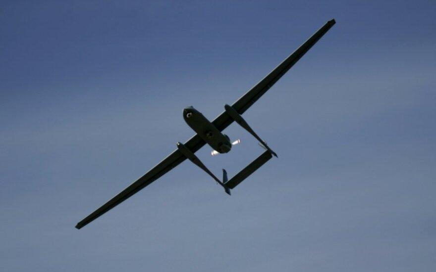 Izraelyje sudužo didžiausias pasaulyje nepilotuojamas lėktuvas
