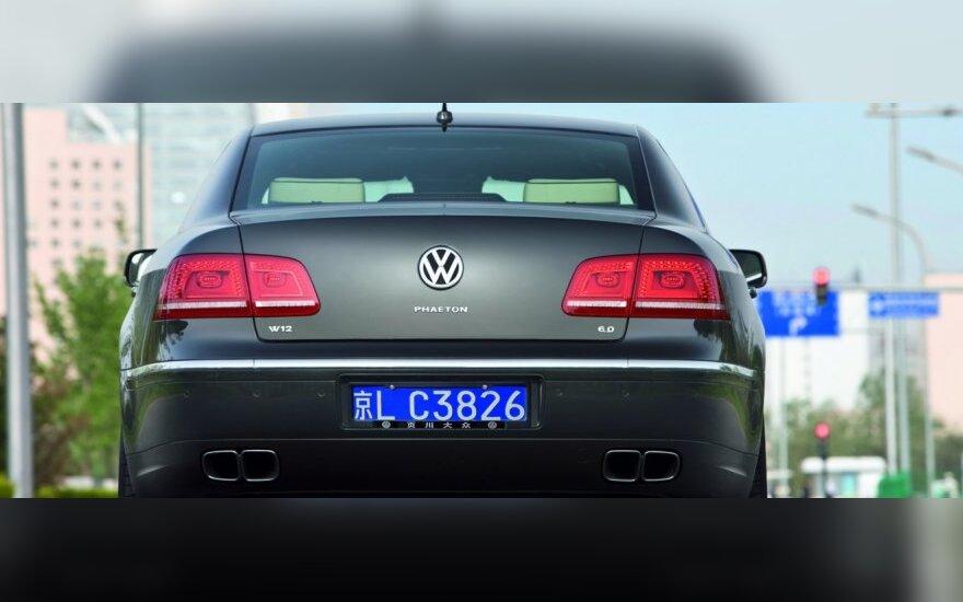 """""""Volkswagen"""" Kinijos padalinio vadovą įkalino iki gyvos galvos"""