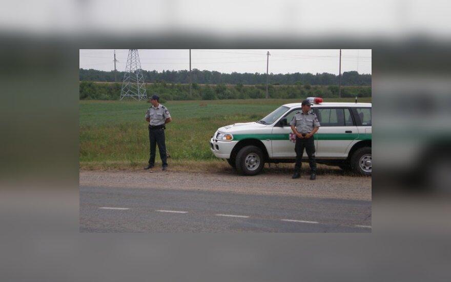 Lietuvos ir Latvijos pareigūnai prižiūrės eismo saugumą pasienyje