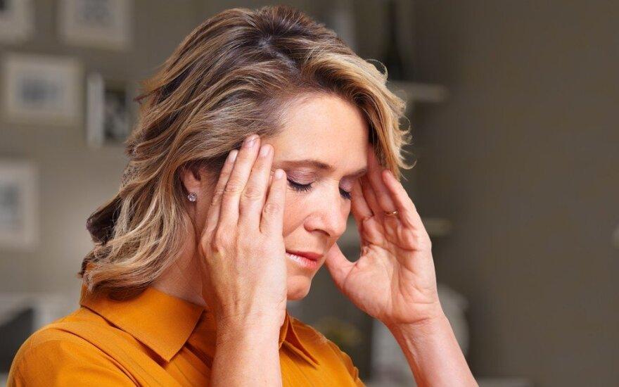 Energijos suteikiantis junginys gali padėti išvengti migrenos