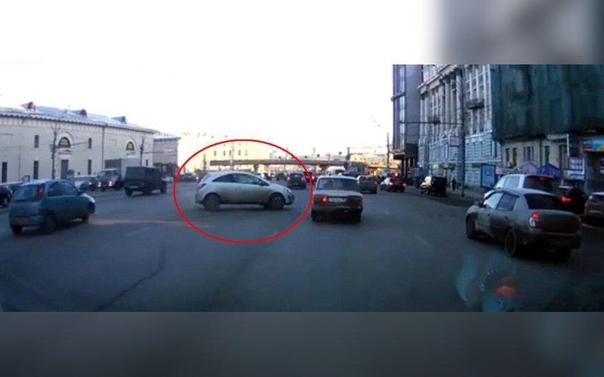 Automobiliai Maskvoje
