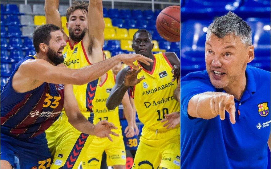 Nikola Mirotičius ir Šarūnas Jasikevičius