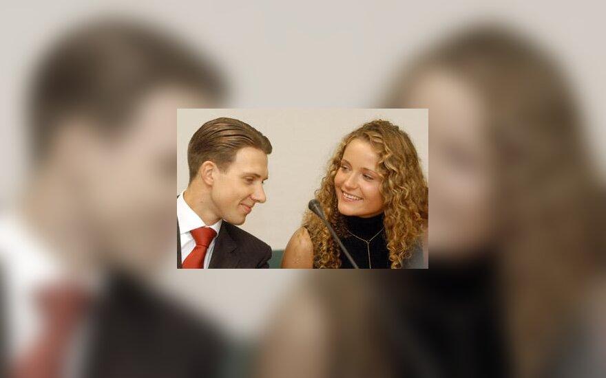 Arūnas Bižokas ir Edita Daniūtė