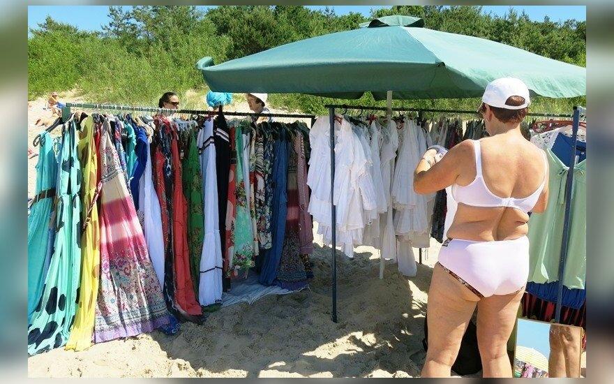 Turgus Palangos paplūdimyje