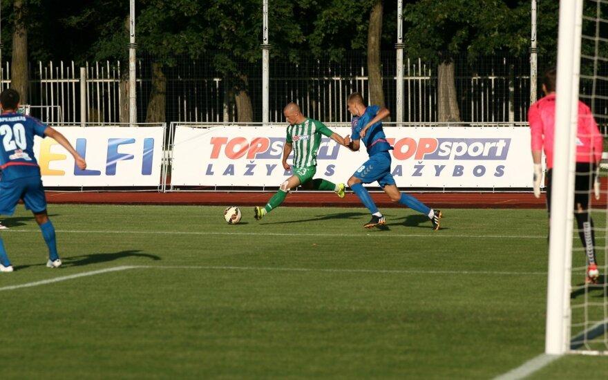 """A lyga. Kauno """"FK Stumbras"""" -  Vilniaus """"FK Žalgiris"""""""