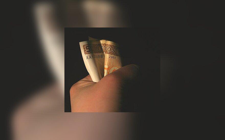 Pinigai, litai, godumas