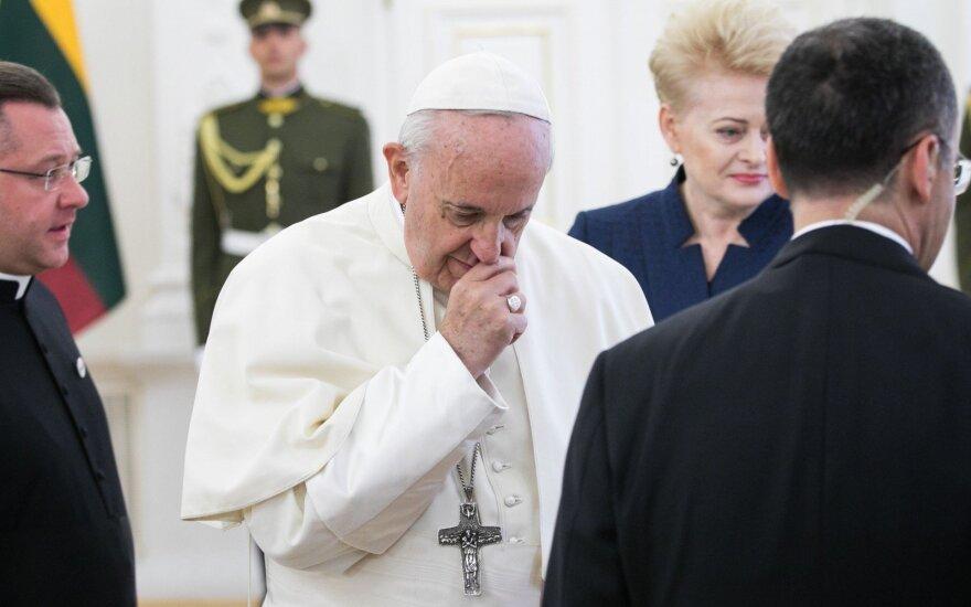 Popiežius lapkritį lankysis Japonijoje ir Tailande