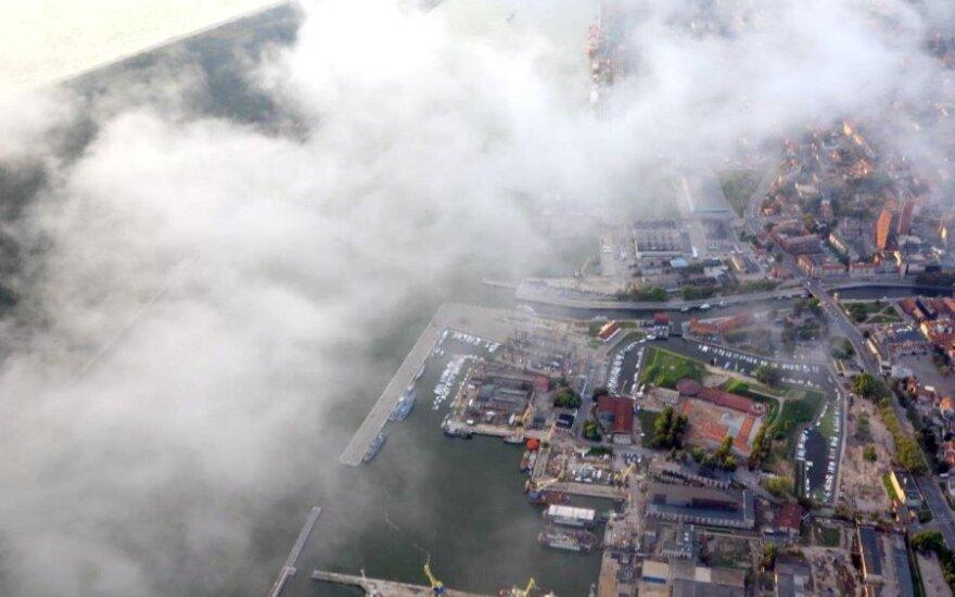 Incidentas Klaipėdos uoste: išsiliejo hidrauliniai tepalai