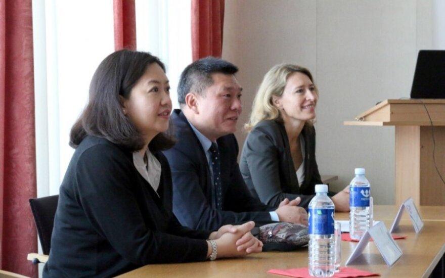 Svečiai iš Kinijos vieši LSU
