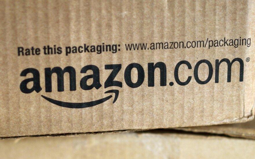 """""""Amazon"""" pelnas ir pardavimų apimtys kyla"""