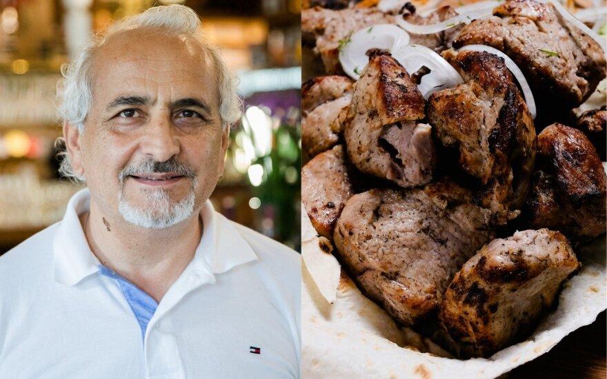 Garnik Kazarian, armėniškas šašlykas