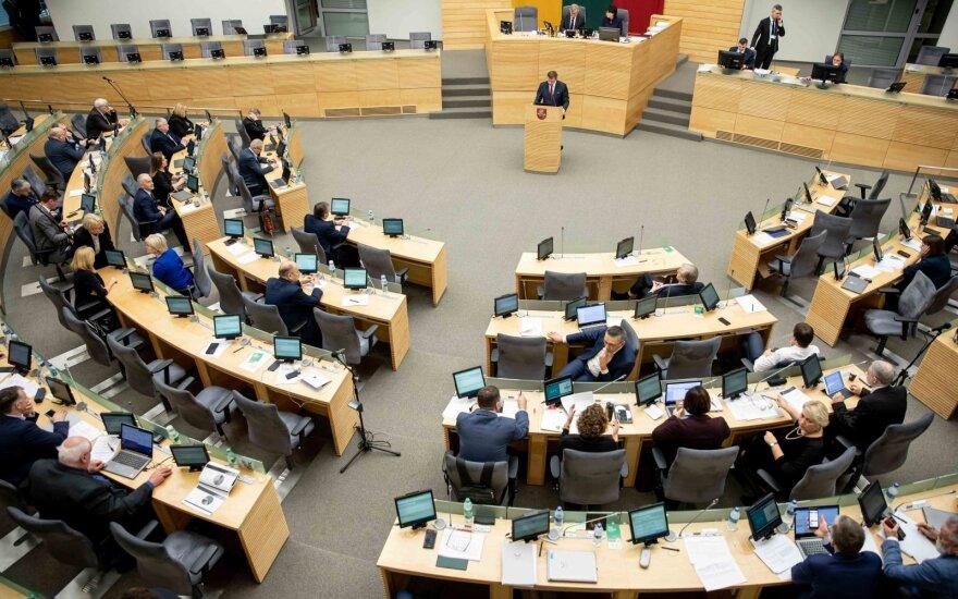 Seimas transliuos savo vadovybės, bet ne Etikos ir procedūrų komisijos posėdžius