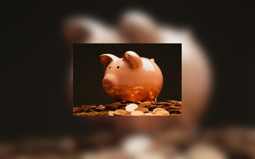 Pinigai, finansai, taupyklė