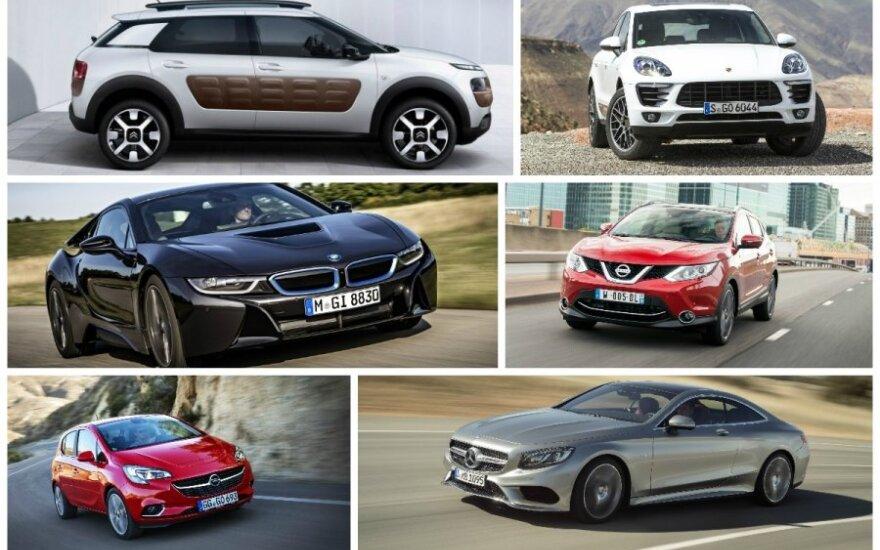 Europos metų automobilis 2015 dalyviai
