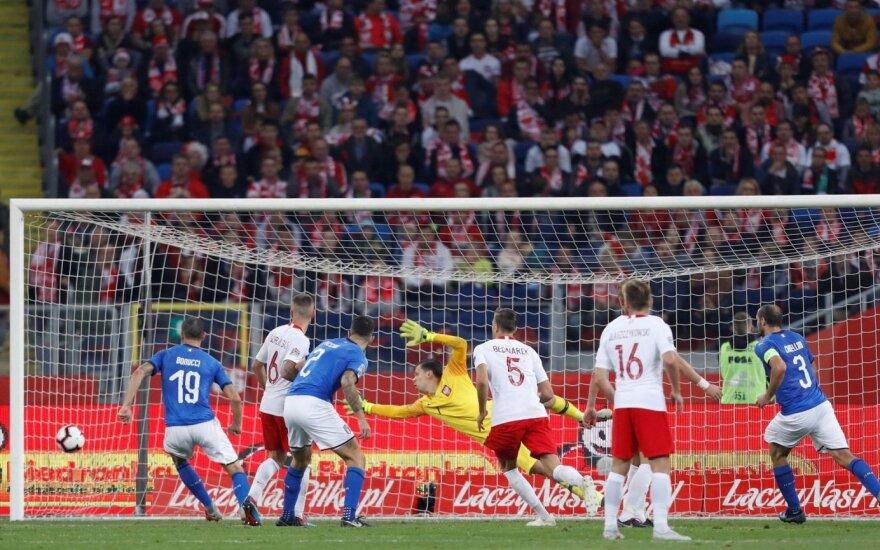 UEFA Tautų lygoje – rusų pergalė prieš turkus ir lenkų nesėkmė