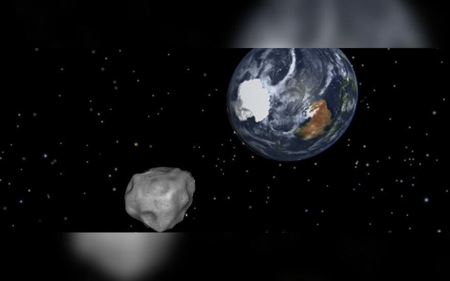 Dingo užvakar netoli Žemės turėjęs praskrieti asteroidas