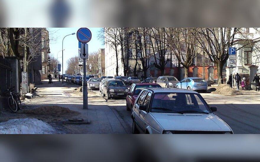 Vilniuje, K.Kalinausko g. 4. 2011-03-16, 11.31 val.