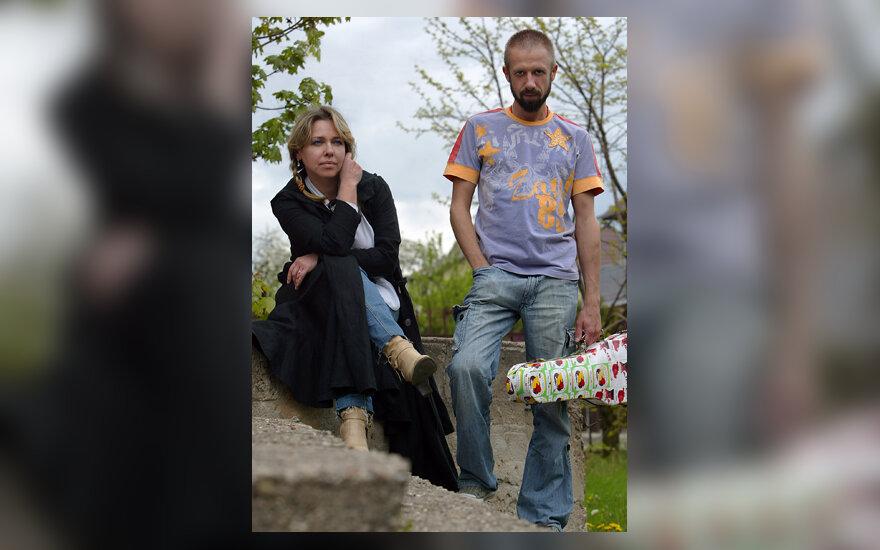Linas Adomaitis ir Eurika Masytė