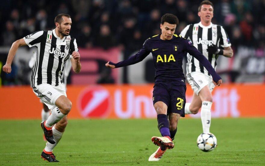 """UEFA Čempionų lyga: """"Juventus"""" – """"Tottenham Hotspur"""""""