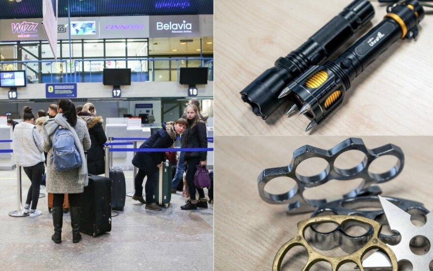 Atskleidė, kokių netikėčiausių daiktų aptinka lietuvių bagaže: tautiečių išradingumui ribų nėra