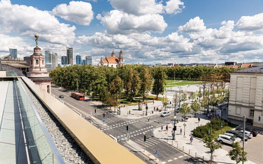 Vilniaus centre atidaroma nauja miestiečiams atvira erdvė
