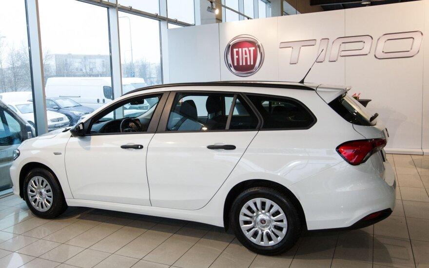 """""""Fiat Tipo"""" pristatymas"""