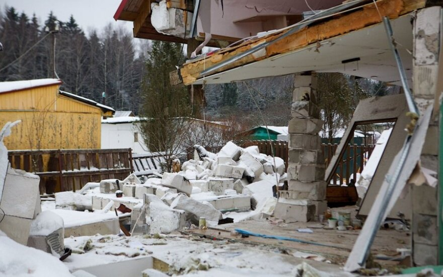 Susirūpino pastatų apsauga nuo sprogimų karo atveju