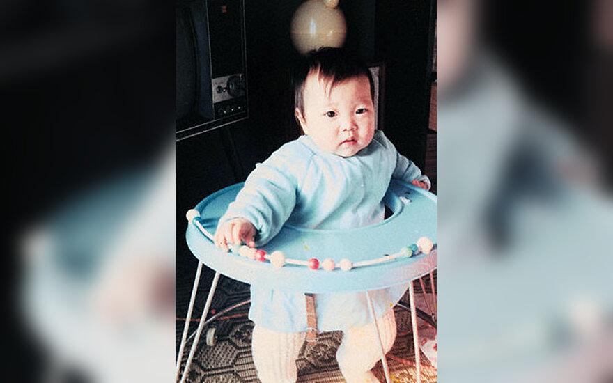 Kūdikis vaikštynėje
