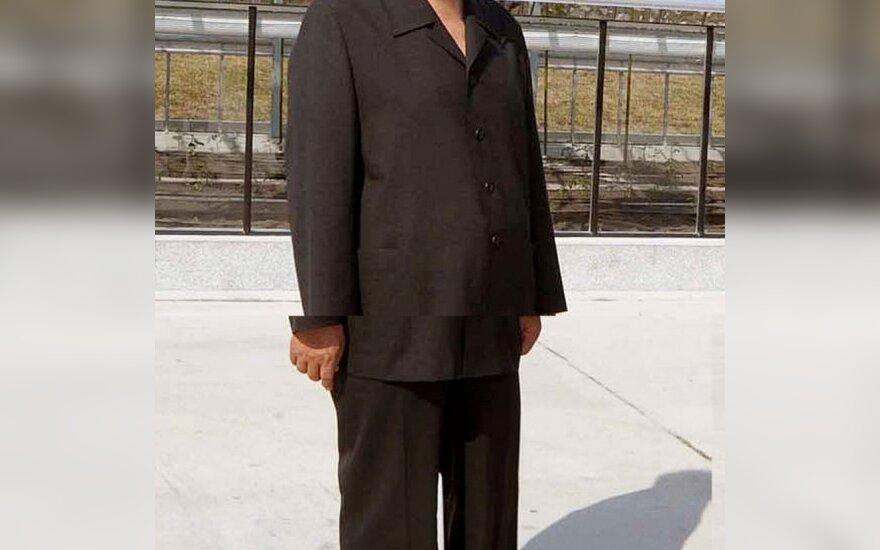 Šiaurės Korėjos lyderis serga kasos vėžiu