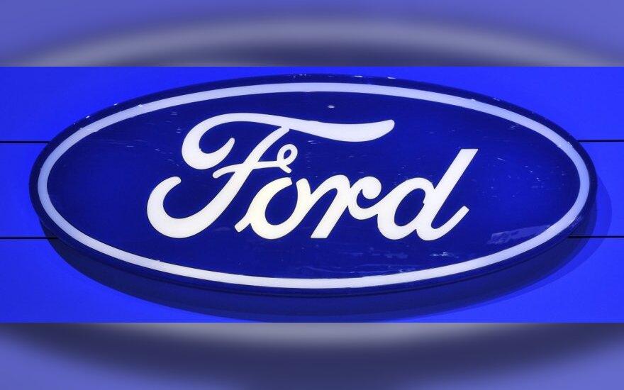 """""""Ford"""" iki 2015 m. Kinijoje pristatys 15 naujų automobilių"""