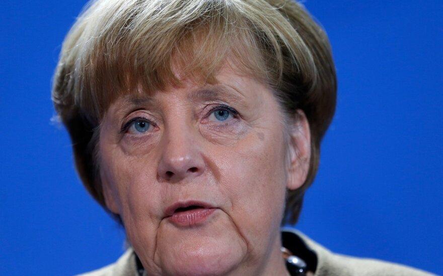 A. Merkel: ginklais su teroru turi tapti susitelkimas ir gailestis
