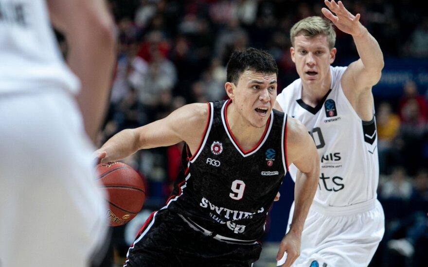 """""""Rytui"""" nepavyko sugrįžti į pergalių kelią – nusileido """"Partizan"""" komandai"""