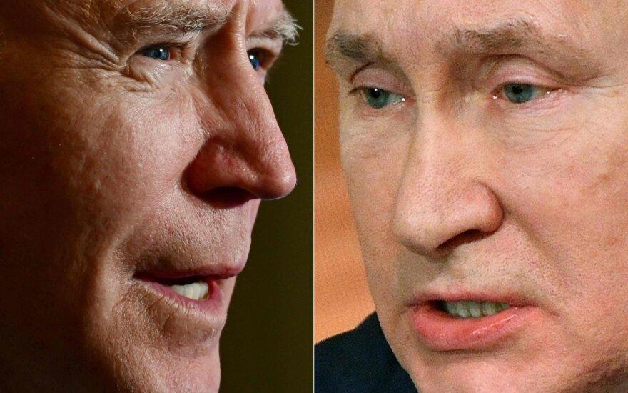 Bidenas ir Putinas