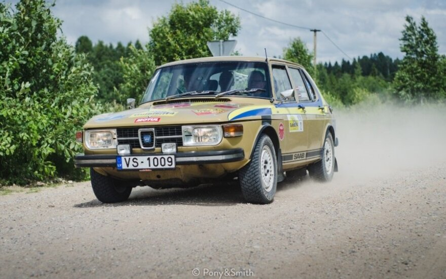 """Rally Latvia Historic"" (youngtimerrally.lv nuotr.)"